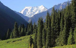 Kirgistan w lipcu